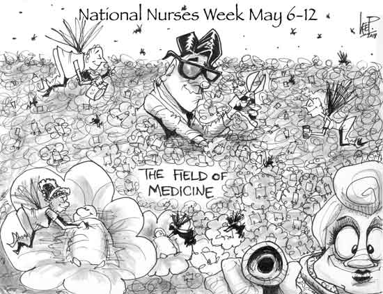 To Our Nurses, For All They Do!