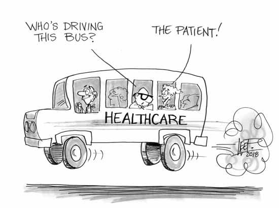 Where does the patient fit in?