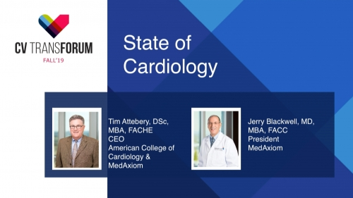 Thumbnail of CV Transforum Fall'19 – State of Cardiology Video