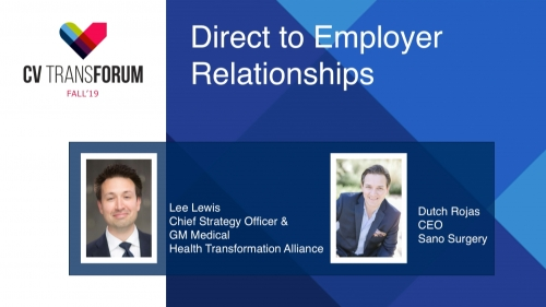 Thumbnail of CV Transforum Fall'19 – Direct to Employer Relationships Video