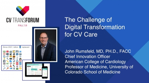 Thumbnail of CV Transforum Fall'19 – The Challenge of Digital Transformation in CV Care Video