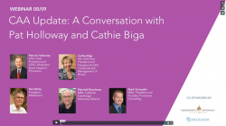 Thumbnail image for CAA Update: A Conversation with Pat Holloway and Cathie Biga