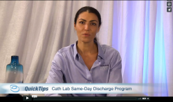 Thumbnail image for QuickTips with Donna Bozga: Cath Lab Same-Day Discharge Program