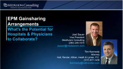 Thumbnail image for EPM Gainsharing Arrangements – What's the potential for hospitals and physicians to collaborate?