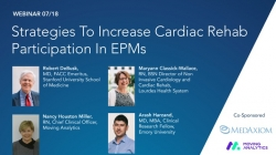 Thumbnail image for Strategies To Increase Cardiac Rehab Participation In EPMs