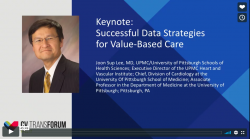 Thumbnail image for CV Transforum Fall'17 Keynote Presentation: Successful Data Strategies for Value–Based Care - Dr. Joon Sup Lee