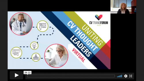 Thumbnail of CV Transforum F'20 Virtual: Patient Throughput Strategies – Bypass the Waiting Room Video