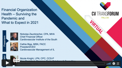 Thumbnail of CV Transforum F'20 Virtual: Financial Organization Health – Surviving the Pandemic and What to Expect in 2021 Video