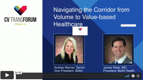 Thumbnail of CV Transforum Spring'19 – Navigating the Corridor from Volume to Value-Based Healthcare Video