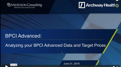 Thumbnail image for Webinar Recording: Analyzing your BPCI Advanced Data and Target Prices
