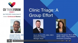 Thumbnail image for CV Transforum Spring'17 Breakout: The RN Role in a Busy Ambulatory CV Program - Goeke, Moore & Biesbrock