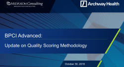 Thumbnail image for Webinar Recording: BPCI Advanced - Quality Scoring Methodology
